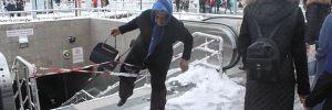 Yürüyen merdiven korkusu nedeniyle yasak dinlemedi
