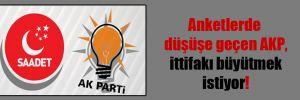 Anketlerde düşüşe geçen AKP, ittifakı büyütmek istiyor!
