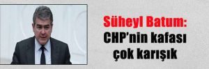 Süheyl Batum: CHP'nin kafası çok karışık