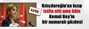 Kılıçdaroğlu'na kızıp istifa etti ama hāla Kemal Bey'in bir numaralı gözdesi