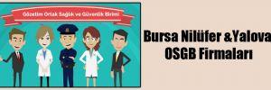 Bursa Nilüfer &Yalova OSGB Firmaları