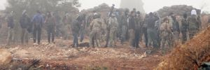 Burseya Dağı'nda çatışmalar sürüyor