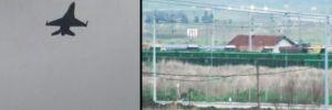 F-16'lar Bandırma'dan 'Zeytin Dalı Harekatı' için havalandı