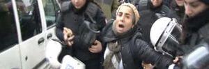 Kadıköy'de Afrin protestosu! Polis müdahale etti