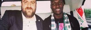 Bursaspor, Moussa Sow'u Bursa'ya getirdi