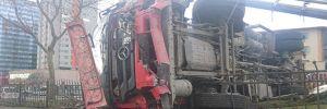 Şişli'de çöp kamyonu dehşeti