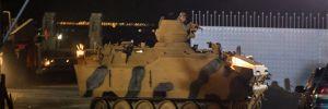 Tanklar, Kilis'ten Suriye'ye geçti