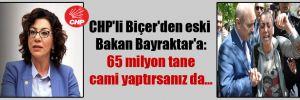 CHP'li Biçer'den eski Bakan Bayraktar'a: 65 milyon tane cami yaptırsanız da…