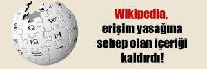 Wikipedia, erişim yasağına sebep olan içeriği kaldırdı!