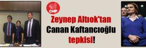 Zeynep Altıok'tan Canan Kaftancıoğlu tepkisi!