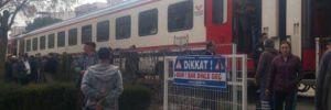 Trenin çarptığı yaya öldü