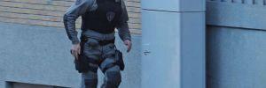 Brüksel'de silahlı saldırgan paniği