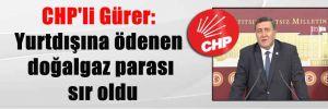 CHP'li Gürer: Yurtdışına ödenen doğalgaz parası sır oldu