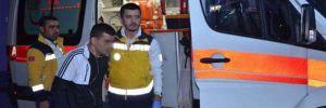 Kozan İlçe Jandarma Komutanlığında yangın: 8 asker zehirlendi