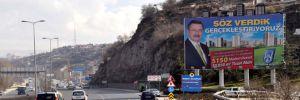4 ay önce istifa eden Gökçek'in reklam afişleri halen duruyor