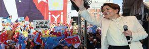 Akşener: Hadi yüreğiniz yetiyorsa İYİ Parti'yi seçime sokmayın