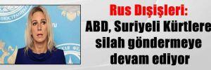 Rus Dışişleri: ABD, Suriyeli Kürtlere silah göndermeye devam ediyor