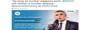 Stoltenberg: Nükleer silahlar varoldukça NATO'nun da nükleer silahı olacak