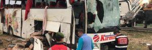 Ankara-Aksaray otoyolunda otobüs kaza yaptı… Ölü ve yaralılar var