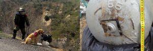 Genç ilçesinde yola tuzaklanan 30 kilo patlayıcı imha edildi