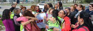 '3 İnsan, 3 Kadın, 3 Anne' sloganıyla yola çıkan kadınları, Bursalılar karşıladı