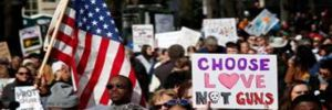 ABD'de on binlerce kişi bireysel silahlanmaya karşı meydanlarda