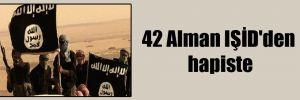42 Alman IŞİD'den hapiste