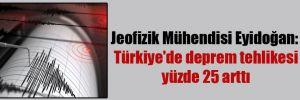 Jeofizik Mühendisi Eyidoğan: Türkiye'de deprem tehlikesi yüzde 25 arttı