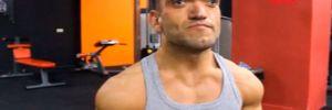 Engelleri aşan vücut geliştirme sporcusu Emre'nin hedefi; Avrupa Şampiyonası