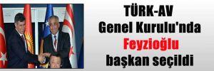 TÜRK-AV Genel Kurulu'nda Feyzioğlu başkan seçildi