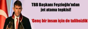TBB Başkanı Feyzioğlu'ndan jet atama tepkisi!