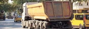 Hafriyat kamyonları için yeni düzenleme!