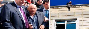 İntihara kalkışan kimlik kaplamacıyı Emniyet Müdürü ikna etti