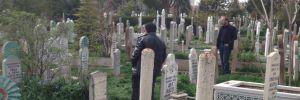 Mezarlıkta karnından bıçaklanmış halde bulundu