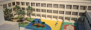 Rumlar okuldaki mozaik döşemeyi 'Türk' diye söktüler