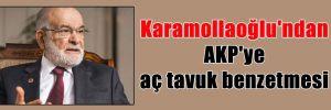 Karamollaoğlu'ndan AKP'ye aç tavuk benzetmesi