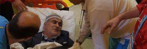 Şenol Güneş hastaneye götürüldü