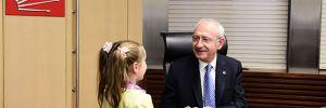 Kılıçdaroğlu, Atatürk'e yazdıkları mektupları kitap haline getiren çocukları kabul etti
