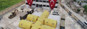 TSK, Cinderes'te seyyar askeri hastane açtı