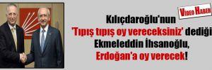 Kılıçdaroğlu'nun 'Tıpış tıpış oy vereceksiniz' dediği Ekmeleddin İhsanoğlu, Erdoğan'a oy verecek!