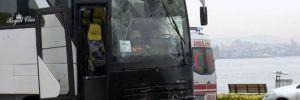 Fatih'te tur otobüsleri çarpıştı çok sayıda öğrenci yaralandı