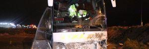 Konya'da otobüs kazası! 18 yaralı