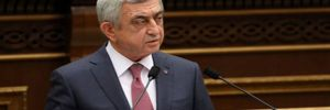 Sarkisyan üçüncü kez seçildi