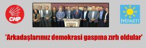 'Arkadaşlarımız demokrasi gaspına zırh oldular'