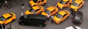 UBER'e saldırı iddiası: 2 taksici gözaltına alındı