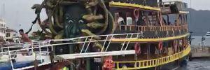 Dümeni kilitlenen teknede faciadan dönüldü