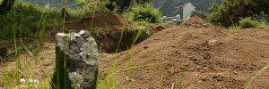 Kaçak define avcıları, 1700 yıllık Rum mezarlarını tahrip etti