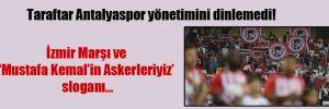 Taraftar Antalyaspor yönetimini dinlemedi!