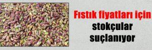 Fıstık fiyatları için stokçular suçlanıyor