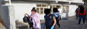 Pitbull ile korkutan fuhuş çetesi polise karşı 24 saat gözetleme yapmış